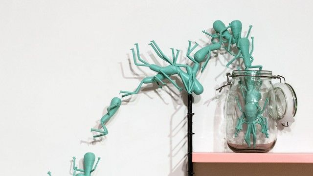 CGI Animation and 3D-Printed Installation