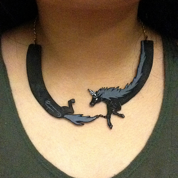 Lord Monochromicorn Necklace