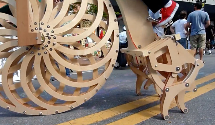 Theo Jansen Strandbeest Cycle by Ron Schroer