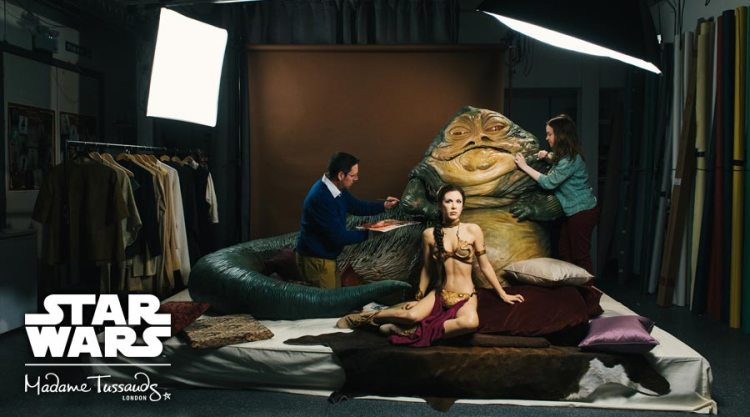 Tussaud Star Wars Jaba