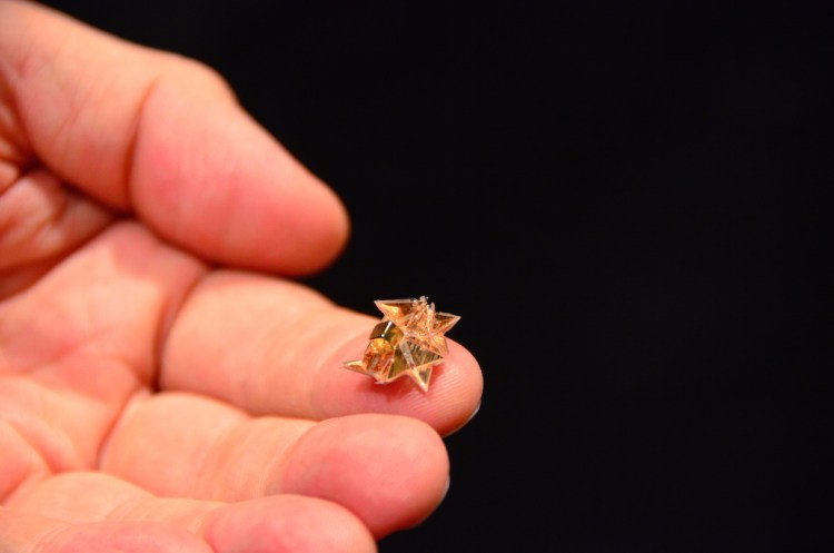 Miniature Origami Robot