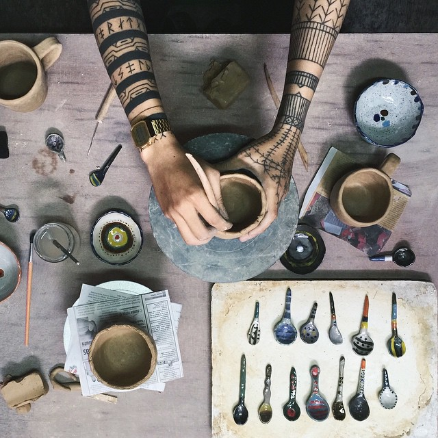 Hands - Pottery