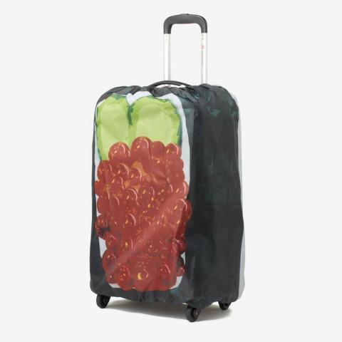 ikura sushi suitcase cover2