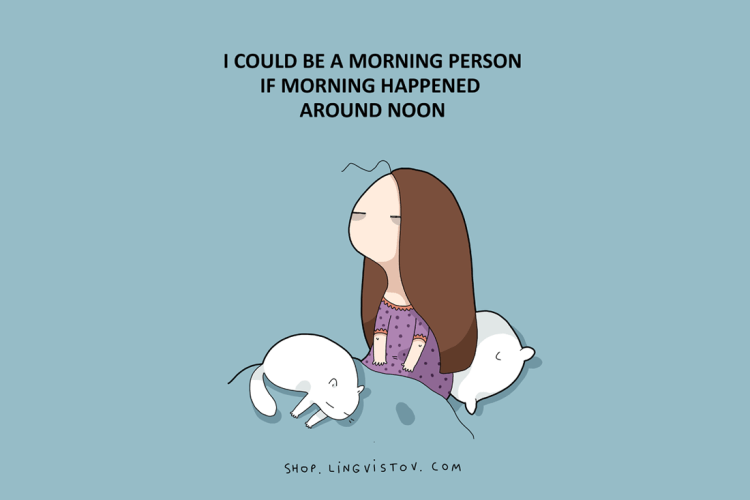 If Morning Happened at Noon
