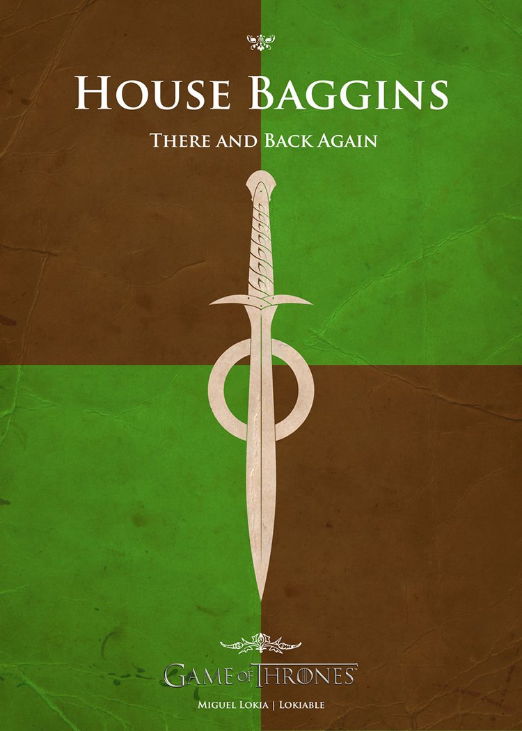 Game Of Thrones House Banners Based On Pop Culture