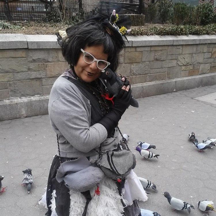 Tina and Pigeon