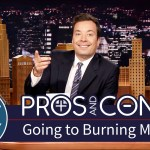 Jimmy Fallon Takes a Look at the Pros and Cons of Going to Burning Man
