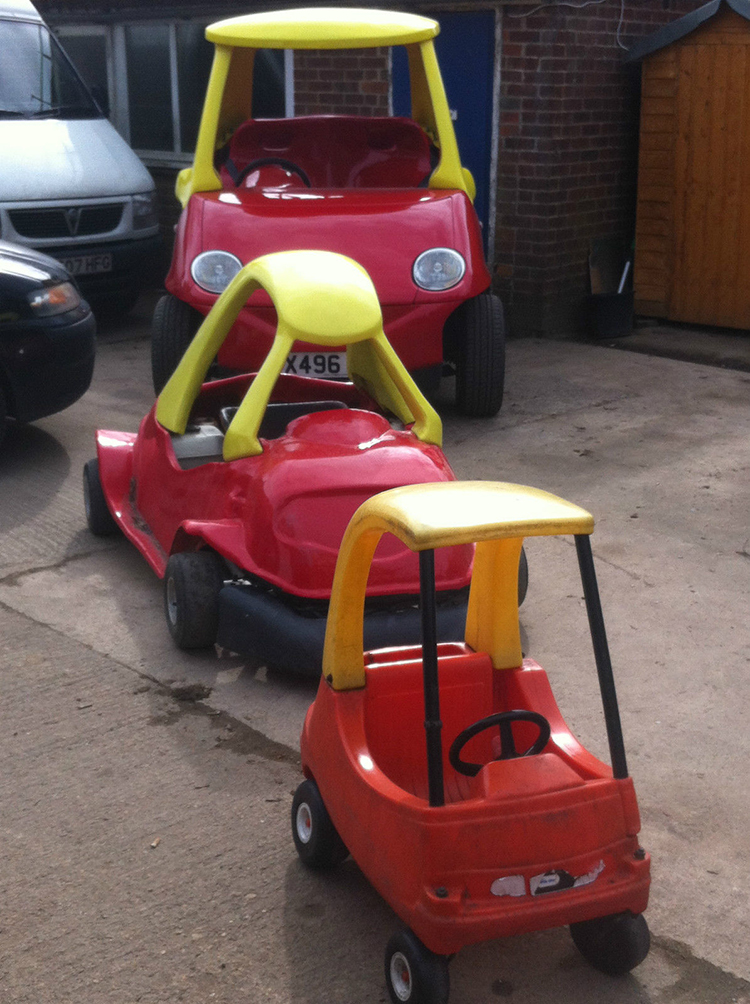 Adult Cozy Coupe Car