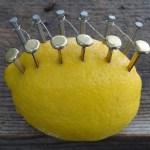 How To Start a Fire Using a Lemon
