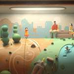 A Hypnotically Beautiful Animation of a Forgotten Penny Arcade Wooden Doll Endlessly Wandering