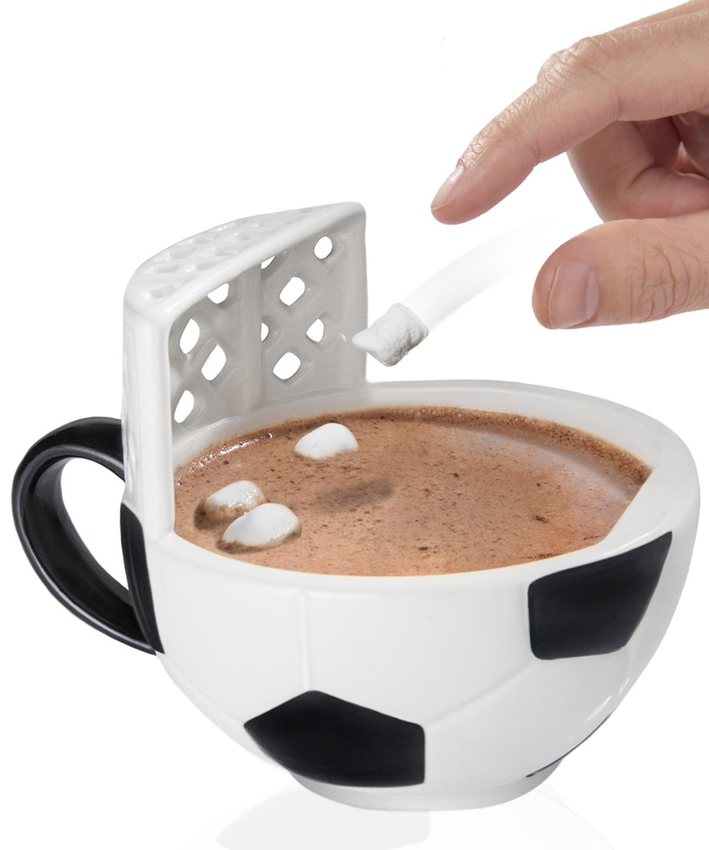 Astonishing A Ceramic Mug A Soccer Goal Ceramic Coffee Mugs furniture Unique Ceramic Coffee Mugs