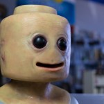A Creepy Lifelike LEGO MiniFig Walks the Floor of San Diego Comic-Con