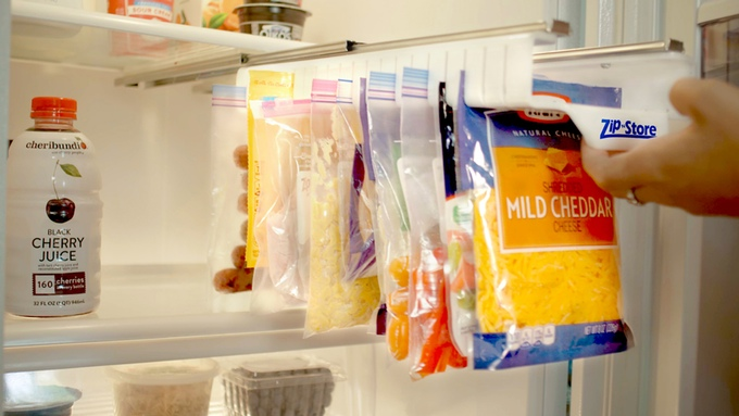 Zip N Store Racks Make It Easy To Organize And Store Food