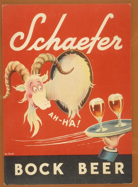 Schaefer Bock Beer