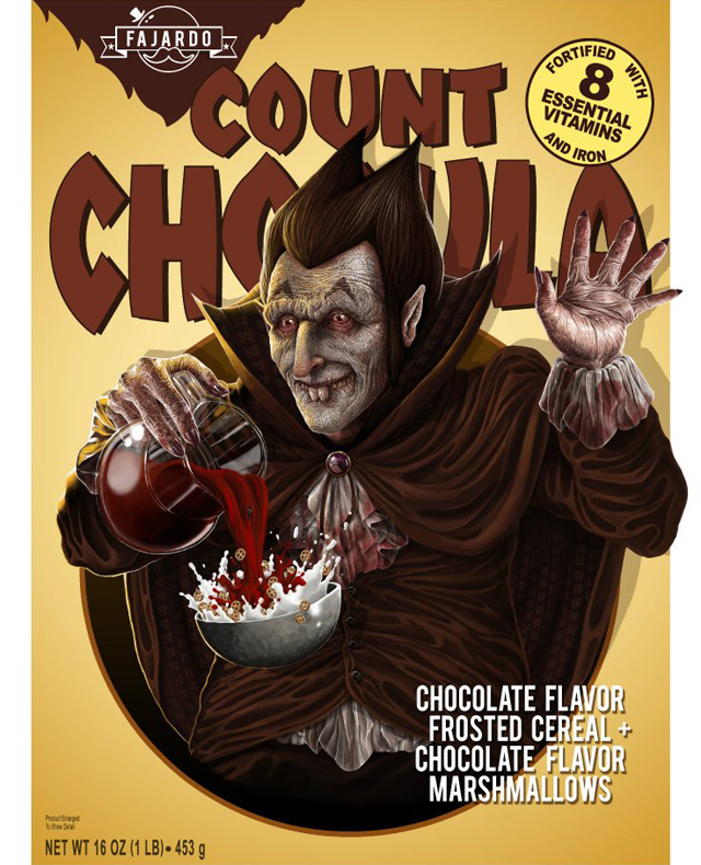 Breakfast Time! - Cereal series (Count) by Guillermo Fajardo