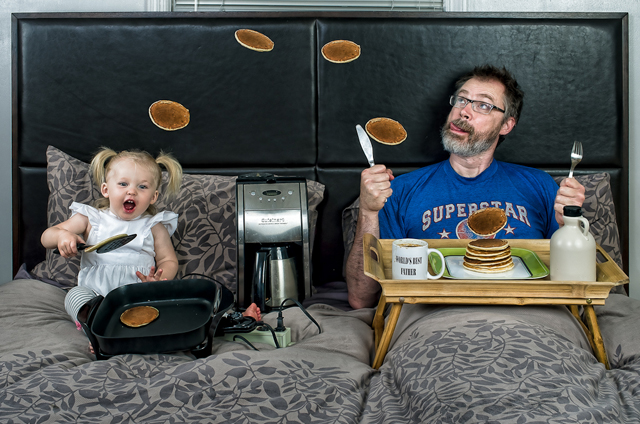 Father's Day Breakfast - World's Best Father by Dave Engledow