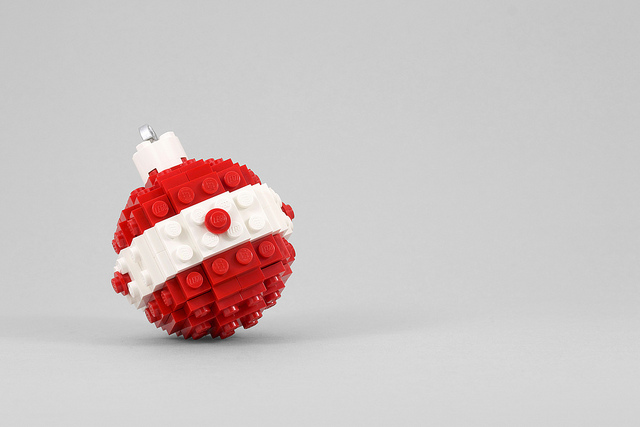 LEGO Holiday Ornament by Chris McVeigh