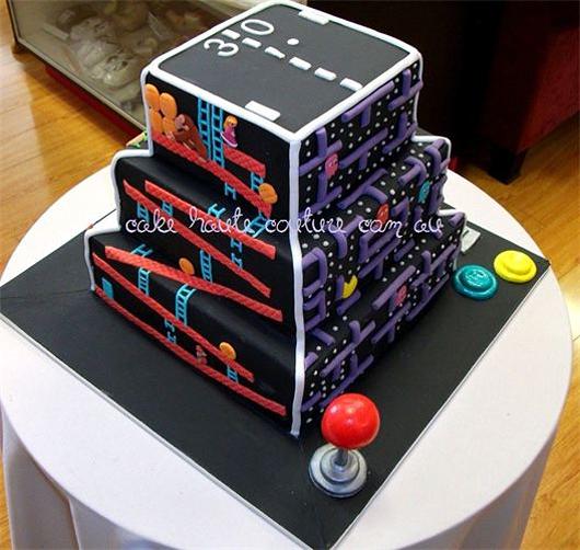 Retro Gaming Cake 2
