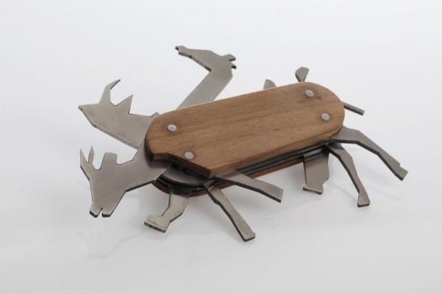 Animal Pocket Knife by David Suhami