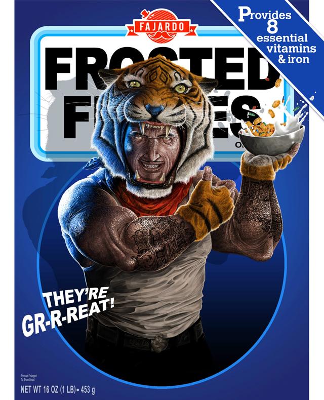 Breakfast Time! - Cereal series (Tony) by Guillermo Fajardo