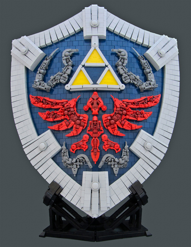 Hylian Shield by Remi / Bolt of Blue