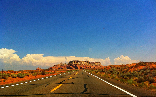 New Mexico Highway photo by Brian DeFrees