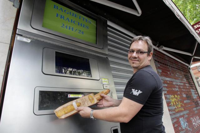 French Bread Vending Machine
