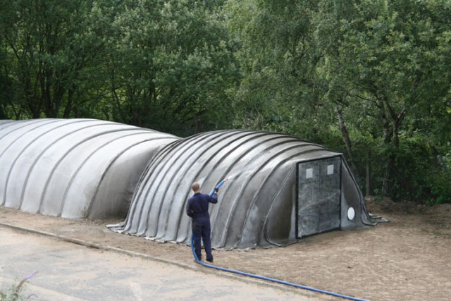 Concrete Canvas Shelter