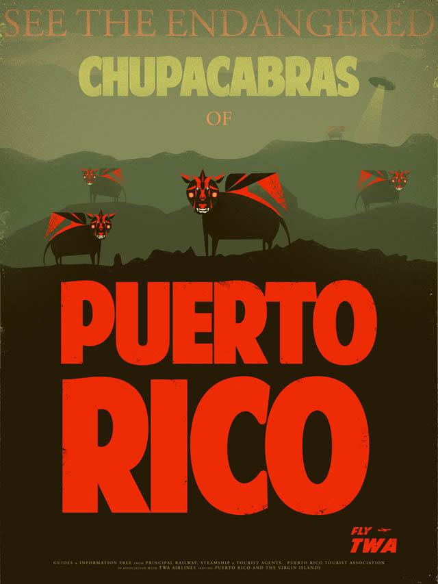 Chupacabras of Puerto Rico by Fernando Reza