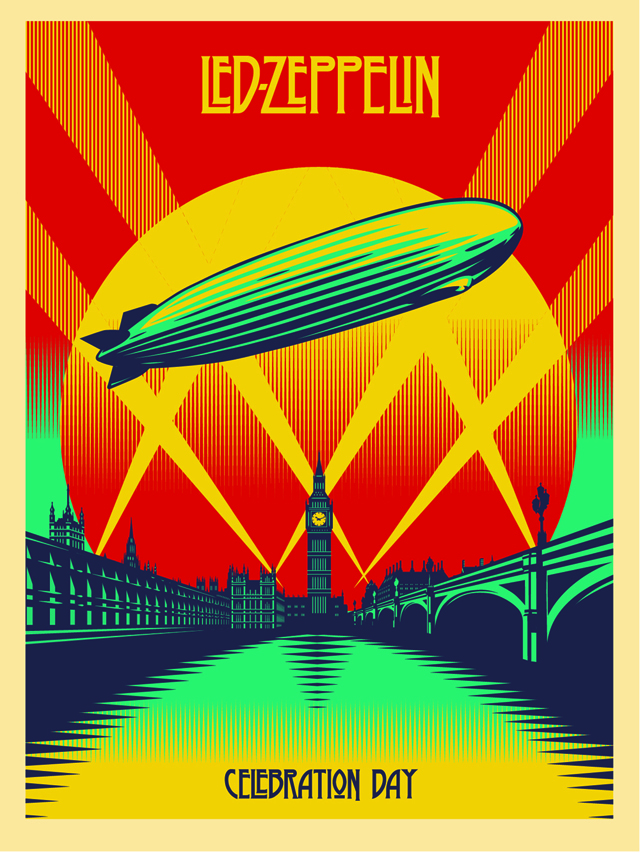 Celebration Day poster by Shepard Fairey
