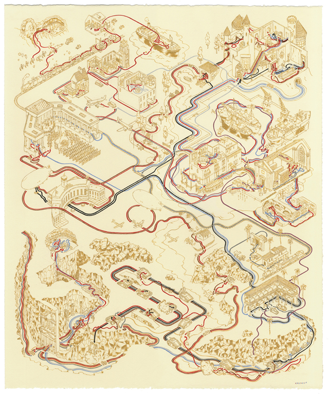 Indiana Jones and the Last Crusade Map