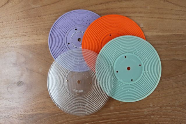 3D Printed Plastic Records for Fisher Price Player