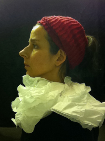 Seat Assignment, Lavatory Self Portraits in the Flemish Style by Nina Katchadourian