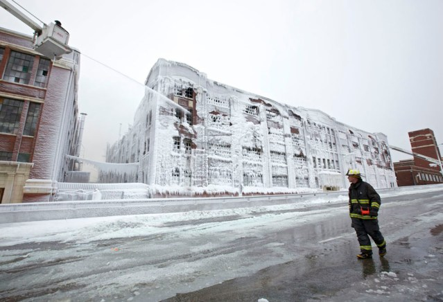 Chicago warehouse fire