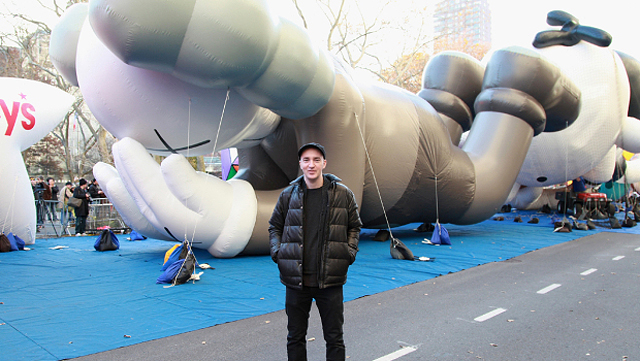 """KAWS """"Companion"""" Float For Macy's Thanksgiving Day Parade"""