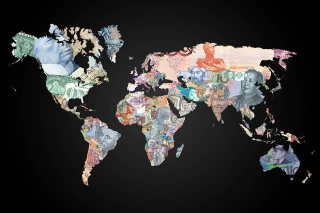 World Map of Banknotes
