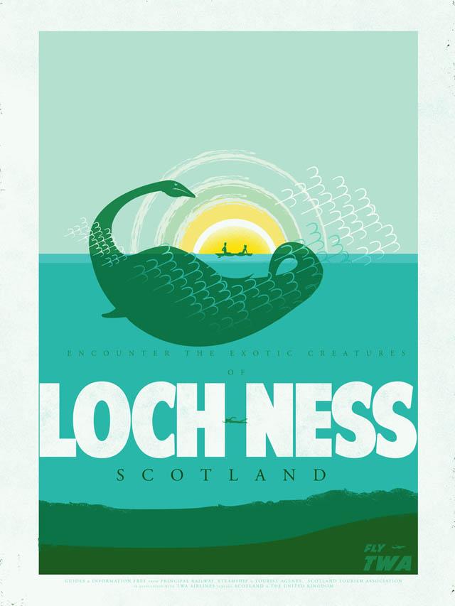 Loch Ness by Fernando Reza