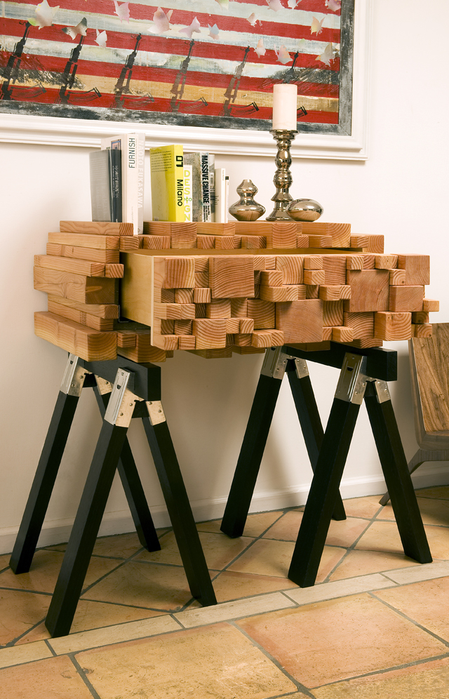 Log Pile Coffee Table
