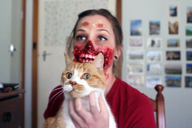 Zombie Halloween Costume by Kiana Jones