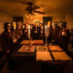 Pizza Delivery Man Surprised To Discover He's Delivering a Pizza to a Secret Society Meeting