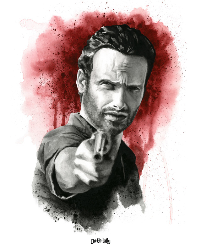 The Walking Dead by Jayson Weidel