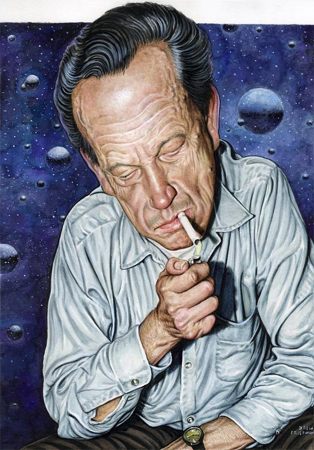 Wally Wood by Drew Friedman