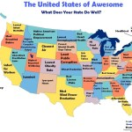 The United States of Awesome, What Each State Does Well