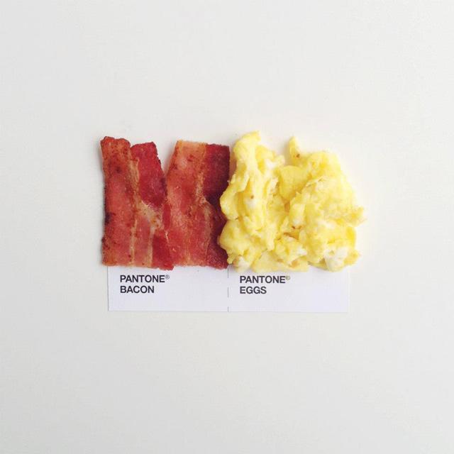 bacon eggs