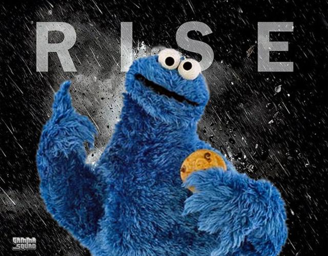 Cookie Monster Batman