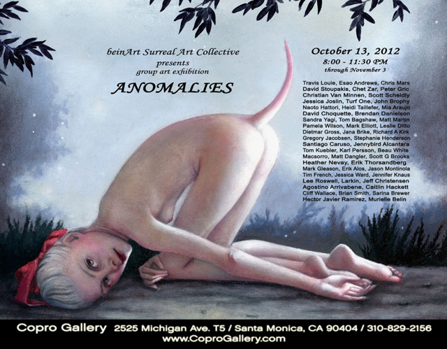 """Anomalies"" - beinArt Surreal Art Collective Exhibition at Copro Gallery"