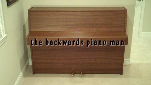 Super Mario Theme by The Backwards Piano Man