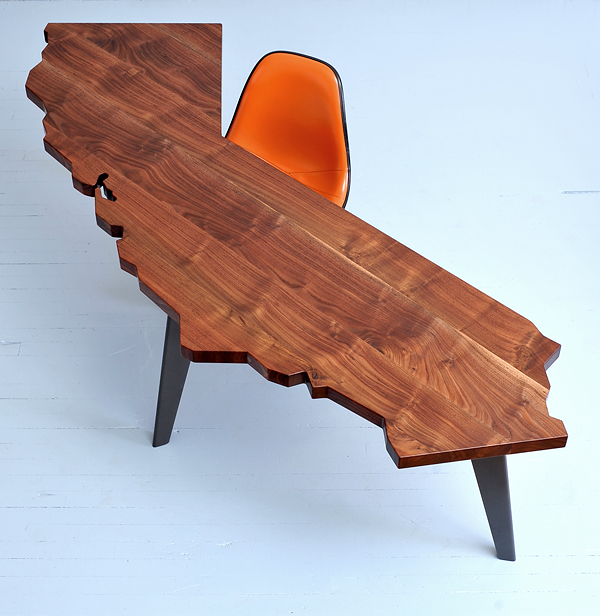 California series desks and tables by Jared Rusten