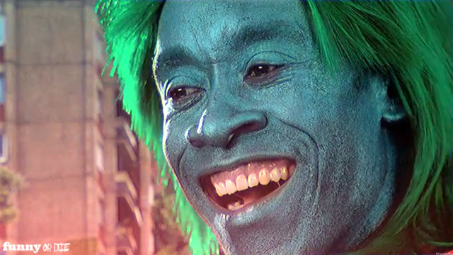 Don Cheadle is a Power Hungry Captain Planet on Funny or Die