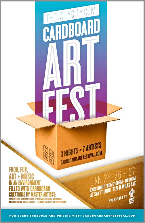 Cardboard Art Fest